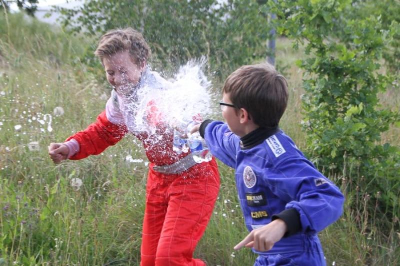 Sieger K3, Wasserschlacht