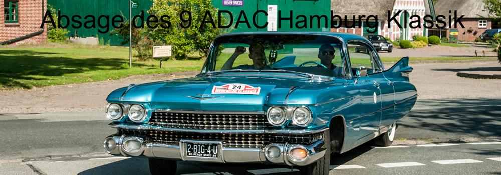 Absage des 9.ADAC Hamburg Klassik